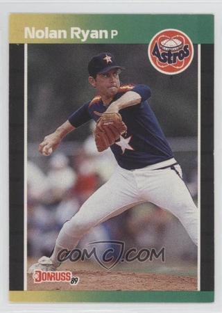 1989 Donruss #154 Nolan Ryan