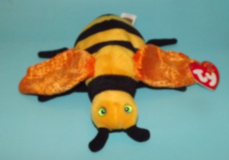 Free  Ty Beanie Baby Buzzie The Bee Born October 20 58d6ab32bca