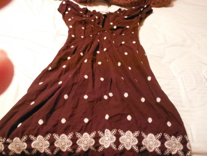 Summer Dress with Flowers! XL