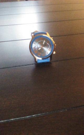 Quartz Dress Watch Blue