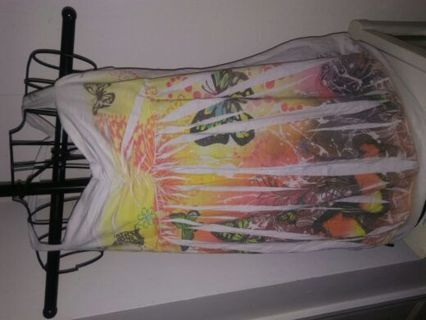 Butterfly blouse xlarge no tag