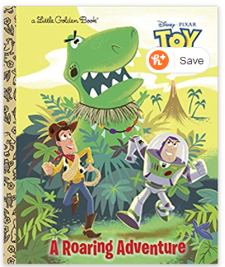 A Roaring Adventure (Disney/Pixar Toy Story) (Little Golden Book) Hardcover