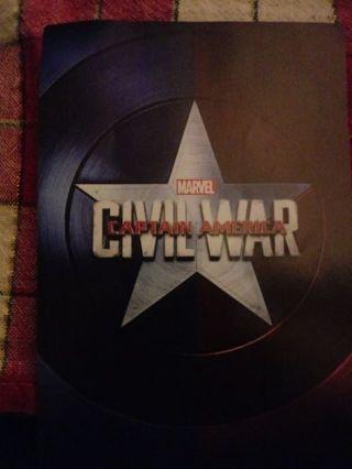 Captain America Civil War DMR Code