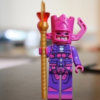 New Galactus Minifigure Building Toys Custom Lego