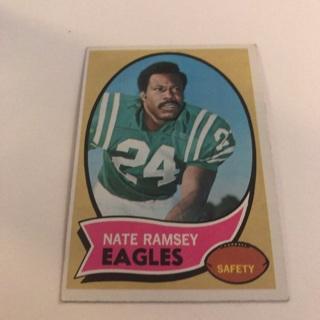 1970 Topps Nate Ramsey Card