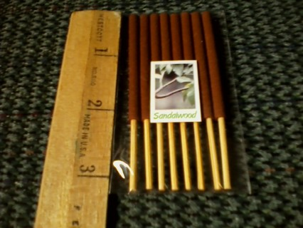 8pk of shortstick sandlewood incense
