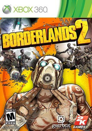 Borderlands 2 Xbox 360 game
