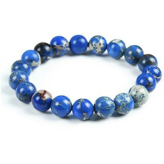Chanfar 10mm Genuine Nature Stone Beaded Bracelet For Women Men Jewelry