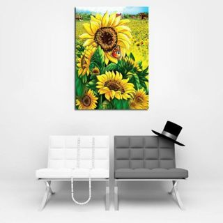 home&living house Painting painting Picture Diamond Painting Sunflower Painting