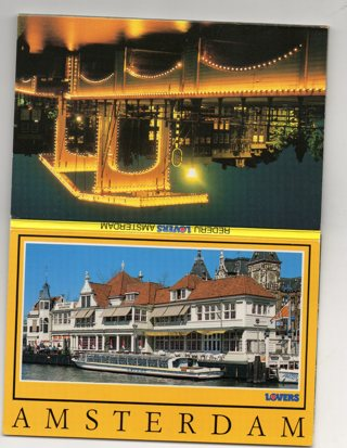 Vintage Tourism Postcard Booklet: Overseas: Amsterdam, Holland