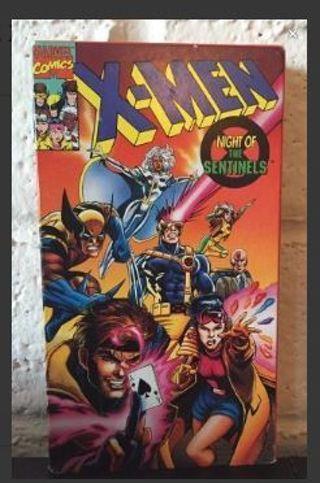 1 MARVEL COMICS MOVIE X-Men: Night of Sentinels Video Movie Cinema GIN
