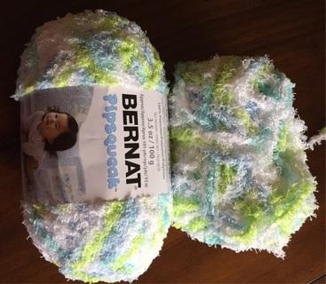Yarn, Bernat Pipsqueak chunky weight