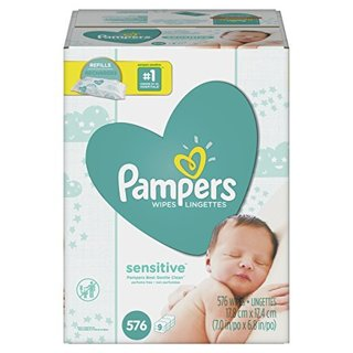 ✔~ Pampers Sensitive Water Baby Wipes 9X Refill Packs, 576 Count ~✔ PLEASE READ DESCRIPTION