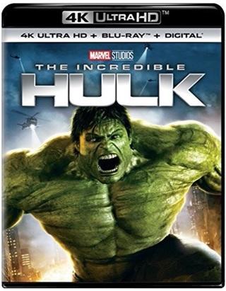 The Incredible Hulk digital code from 4K Blu Ray