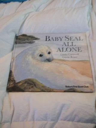 Baby Seal All Alone Book