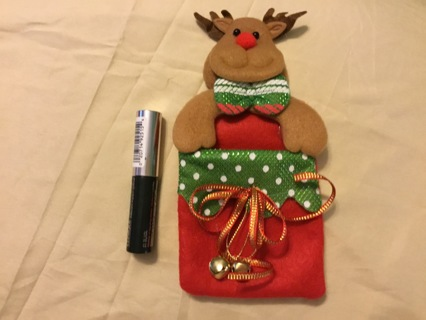 Clinique high impact mascara in reindeer Christmas ornament