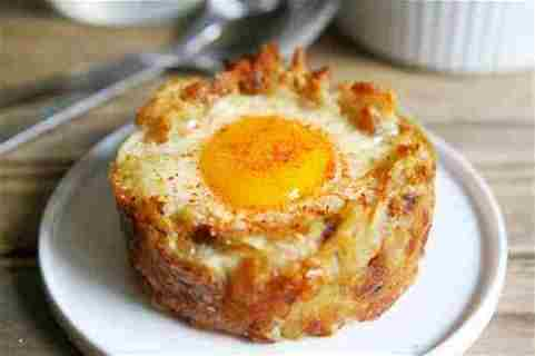 hash brown cup recipe