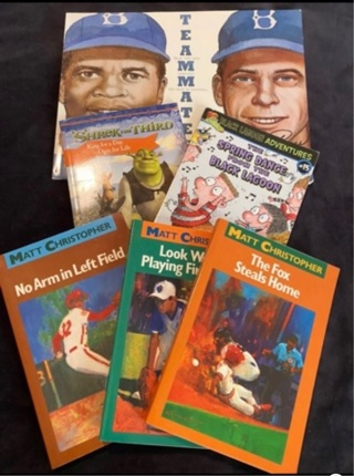 6 books for boy!! Or girl's!!