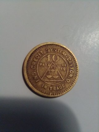 RIVESVILLE SUPPLY CO 10 CENT STORE TOKEN. (OLD)