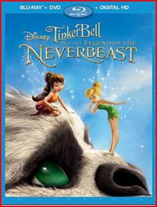 Disney Tinkerbell and the Legend of the NeverBeast Digital Code HD with the Disney reward points.