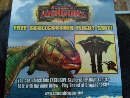 how to train your dragon school of dragons codes