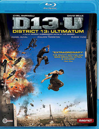 2010 D13-U District 13: Ultimatum (Blu-ray Movie Disc)-New & Sealed-Rated R-Spinning Stunts