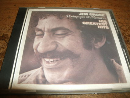 cd-jim croce-greatest hits-photographs&memories-used