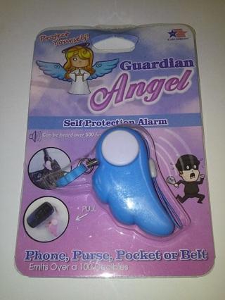 Guardian Angel Self Protection Alarm Key Chain Cell Phone Charm