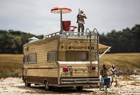 NEW McFarlane Toys Construction Sets- The Walking Dead TV Dale's RV Set FREE SHIPPING