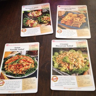 Easy Everyday Cooking Recipe Cards 1