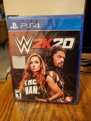 WWE 2K20 PS4 Brand New Factory Sealed