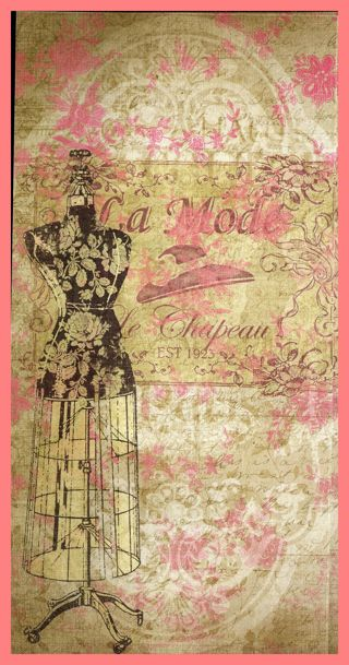 Free Scrapbook Paper Old Fashioned Mannequin Ladies Victorian