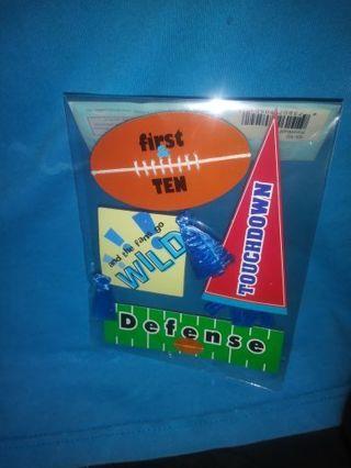 Football Scrapbook Stickers