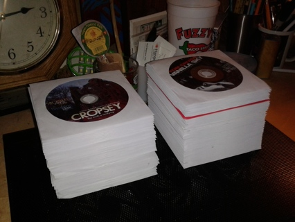108 DVDs in Sleeves - Wide variety