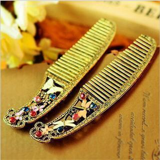 Exquisite Butterfly Comb Dragonfly Hair Tools Stylish Unisex