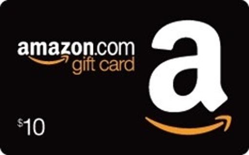 $10.00 Dollar Amazon Gift Card