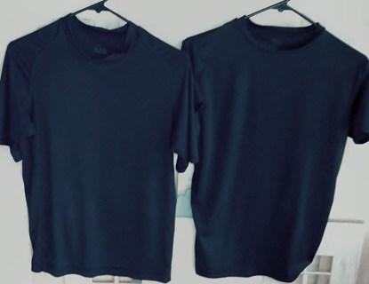 2 black shirts