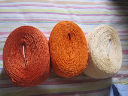 100% LINEN YARN  - 2928 yards!