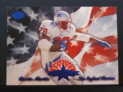 "1996 Leaf ""American All Stars"" Curtis Martin 2nd Year (Patriots) S/N #3838/5000"