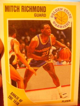 Mitch Richmond Rookie Basketball Card