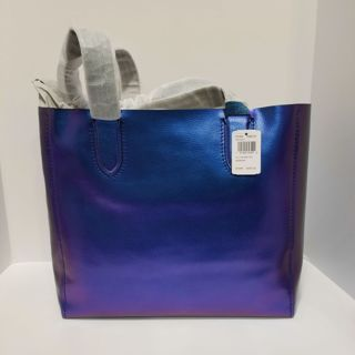 ♥️ NWT Authentic COACH Hologram Tote bag !Whoaa! Stunning ♥️