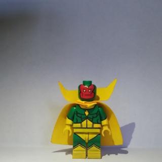 New Vision Super Heroes Minifigure Building Toys Custom Lego