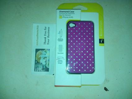 IPhone 4/4S Diamond Cases (2) bnin's