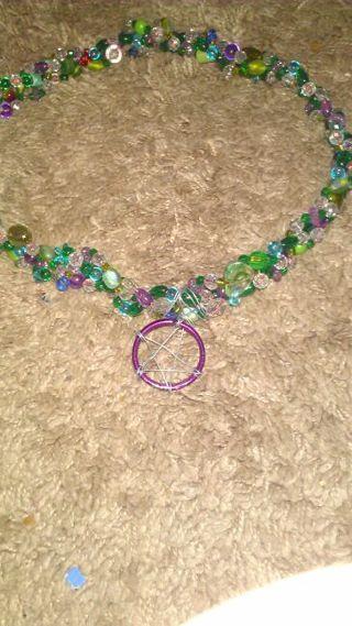Shades of green pagan/Wiccan box of goodies