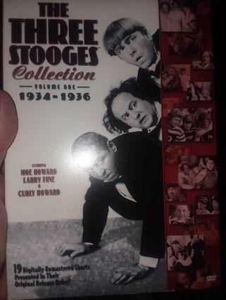 Three stooges boxset in mint read below