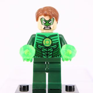 New Green Lamtern Minifigure Building Toys Custom Lego