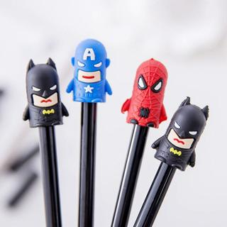 New Arrival Cartoon Figures 0.38mm Black Neutral Pen Student and Office Supplies Papelaria
