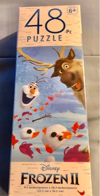 BNIP Disney's FROZEN II 48 Piece Puzzle
