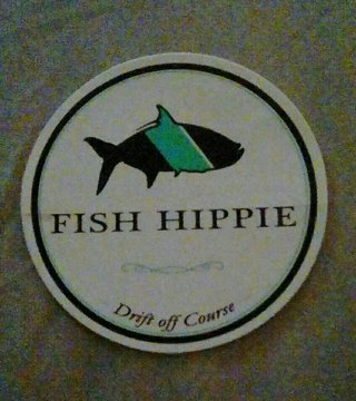 Free fish hippie sticker stickers auctions for Fish hippie sticker