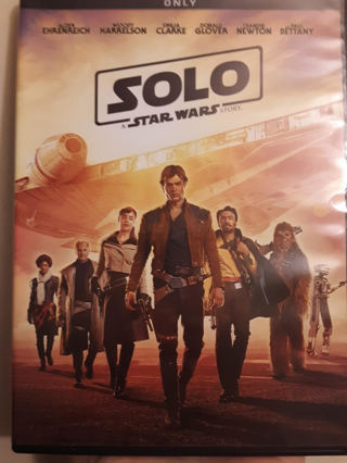 NEW SOLO A STAR WARS STORY